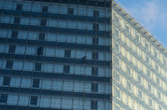 Glass curtain walls Royalty Free Stock Images