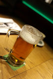 Glass of czech beer Royalty Free Stock Photos