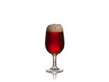 Glass of dark ale Royalty Free Stock Photography