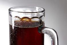 Glass of Dark Beer Stock Photos