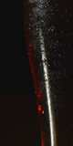 Glass of dark beer (fragment) Royalty Free Stock Photos