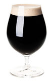 Glass of dark beer Stock Photography