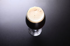 Glass of dark beer Stock Image