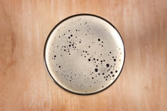 Glass of dark beer Stock Image
