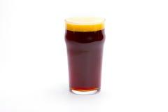 Glass of dark beer Stock Photography