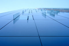 Glass decor window on corporate building Stock Image