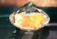 Glass diamond Royalty Free Stock Photo