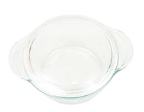 Glass dish for mini oven Royalty Free Stock Photography