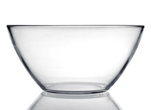 Glass dishware plate Stock Photography