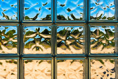 Glass distortions Stock Photos