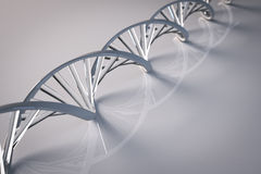 Glass Dna double helix Stock Images