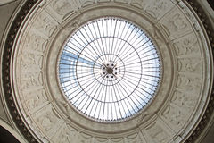 Glass dome. In the Wiesbaden stock photography