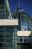 Glass dome. In the city of Dortmund stock images