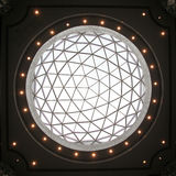 Glass dome. Of a modern business building Stock Photo