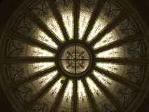 Glass Dome. Ceiling Stock Photo