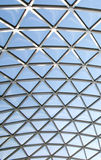 Glass Dome. Roof of a building Royalty Free Stock Photography