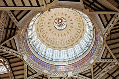 Glass Dome in the Central Market Stock Photography