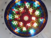 Glass Dome. Handmade glass dome ceiling in japan Royalty Free Stock Photography
