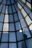 Glass dome-house Stock Images