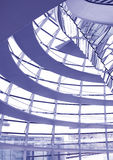Glass Dome Interior stock photography