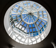 Glass dome at Meadowhall Shopping Centre Royalty Free Stock Photography