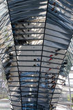 Glass Dome Of The Reichstag. Glass Dome Architecture Of The German Parliament 'Reichstag' in Berlin stock photos