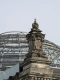 Glass Dome on the Roof of the Reichstag, Berlin Royalty Free Stock Photography