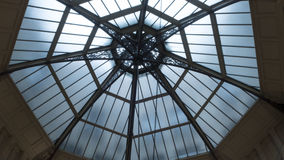 Glass domed ceiling Royalty Free Stock Image