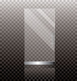 Glass door Stock Images