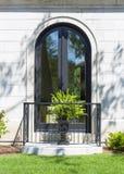 Glass Door Window Stock Image