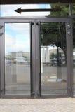 Glass doors. Stock Photography