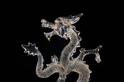 Glass Dragon Stock Images