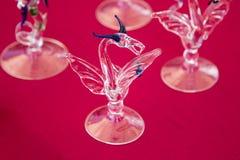 Glass drake Royaltyfri Bild
