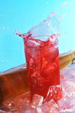 Glass  with drink Stock Image