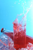Glass  with drink Stock Photo