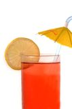 Glass with  drink Stock Photography