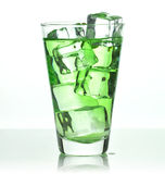 Glass of drink Royalty Free Stock Photography