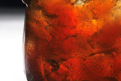 Glass with drink Stock Photos
