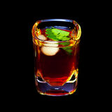 Glass of drink Stock Images