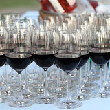 Glass drink red wine Royalty Free Stock Photography