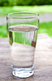 A glass of drinking water Royalty Free Stock Image