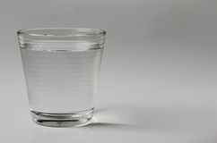 Glass of Drinking Water. Glass of drinking water on clear background Royalty Free Stock Photography