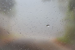 Glass droplets Stock Photo