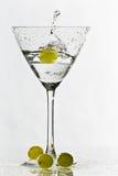 glass druvor för coctail fyra Arkivbilder