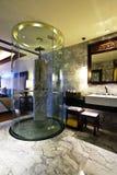 glass dusch Royaltyfri Bild