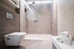 glass dusch för dörr royaltyfri fotografi