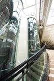 Glass elevator Stock Image