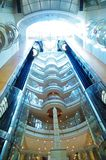 Glass elevator Stock Images