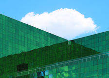 Office Building. Glass fecade in modern building Royalty Free Stock Photography