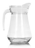 Glass, empty jug Royalty Free Stock Photography